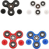 Spinkunai - Ceramic Bearings - Tri-Spinner Fidget spinner Toy Plastic EDC Hand Spinner For Autism and ADHD