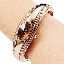 Rose Gold Bracelet Watch Ladies Watch Women Clock saat montre femme reloj mujer