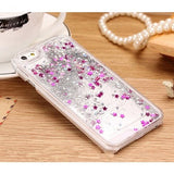 New  Liquid Glitter Transparent Hard Mobile Phone Cases For iphone