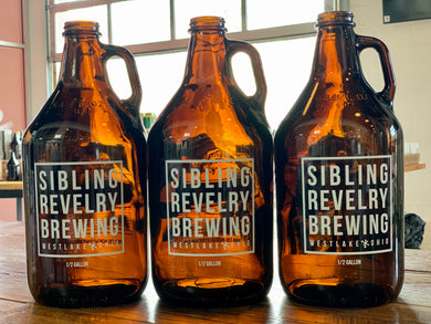Sibling Revelry Growlers