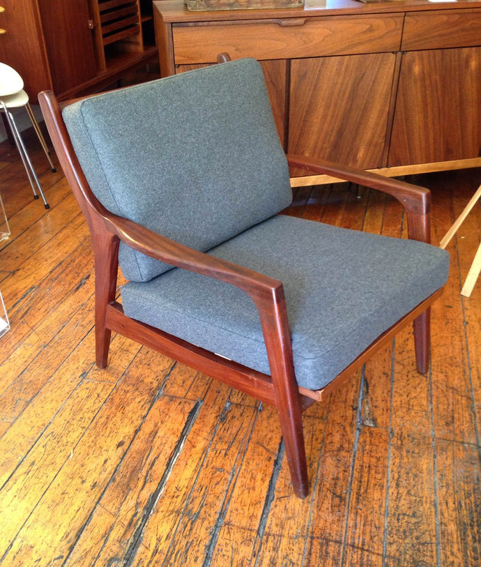 Two Danish Modern Lounge Chairs