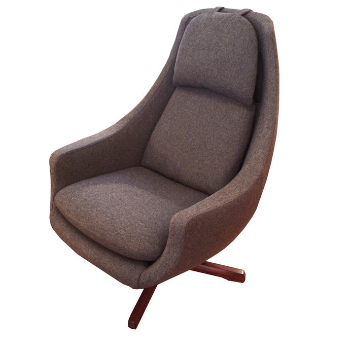 1960s Swivel Lounge Chair