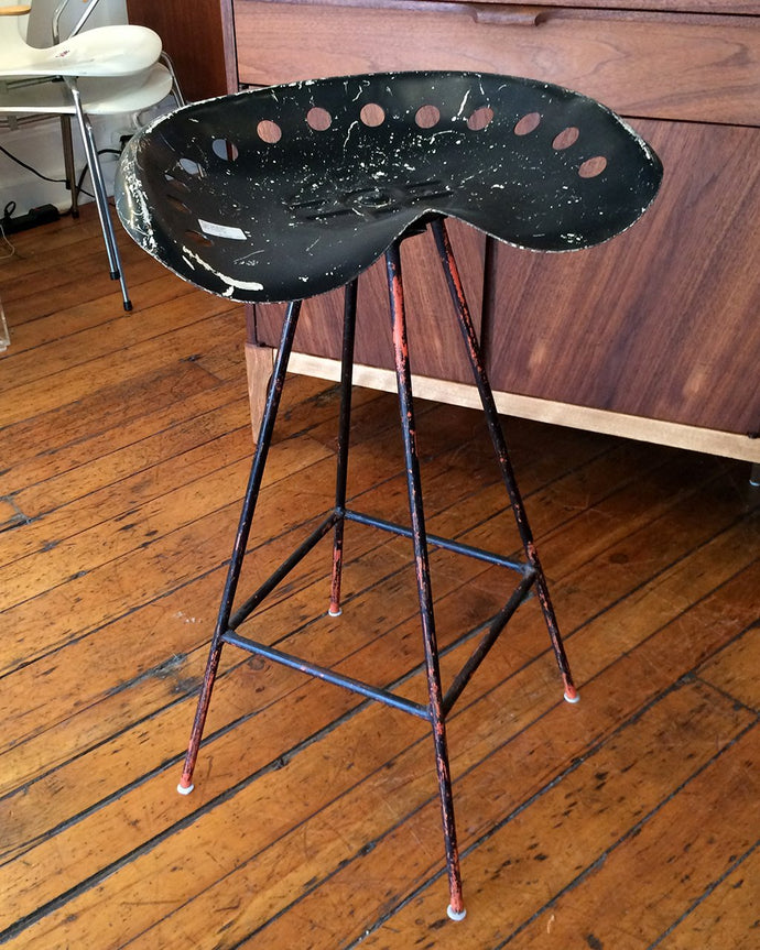 1950s Tractor Seat Stool