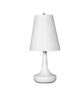 white lotte lamp