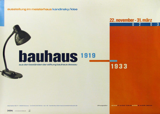 Bauhaus Exhibition Card