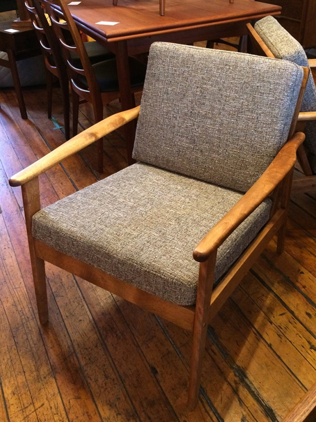 Pair of Birch Lounge Chairs: SOLD