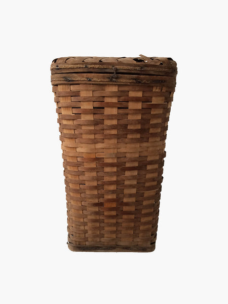 Early Woven Reed Basket