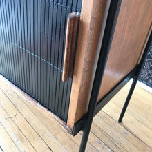 RARE Ash and steel cabinet