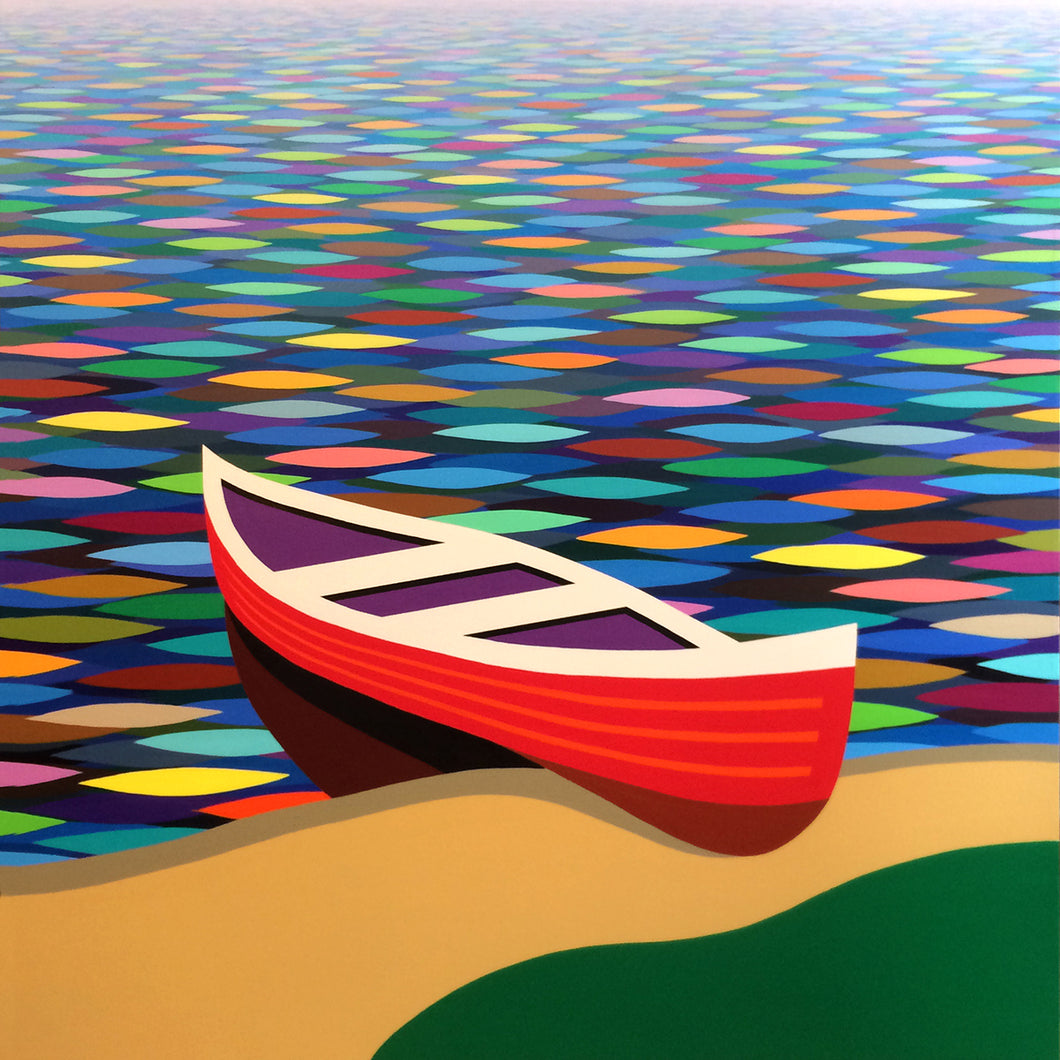 Kurt Swinghammer, Red Canoe No. 40