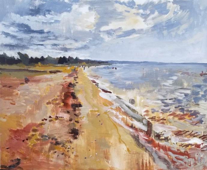 Sauble Beach paintings by Byron Hodgins
