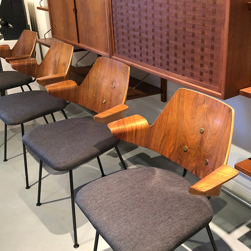 RARE. Robin Day 661 Dining Chairs