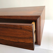 Floating Rosewood drawer