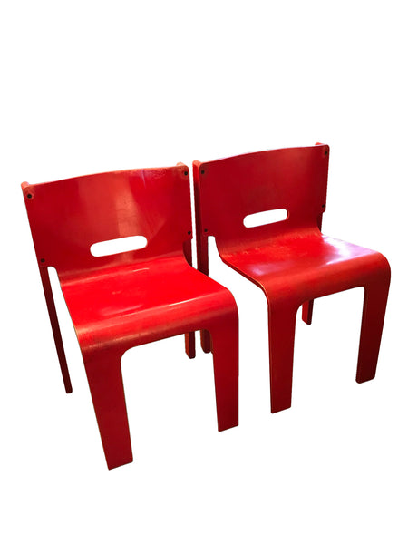 Pair of MS-SC Stacking Chairs: ON SALE