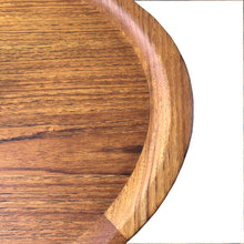 Lovely oval teak coffee table