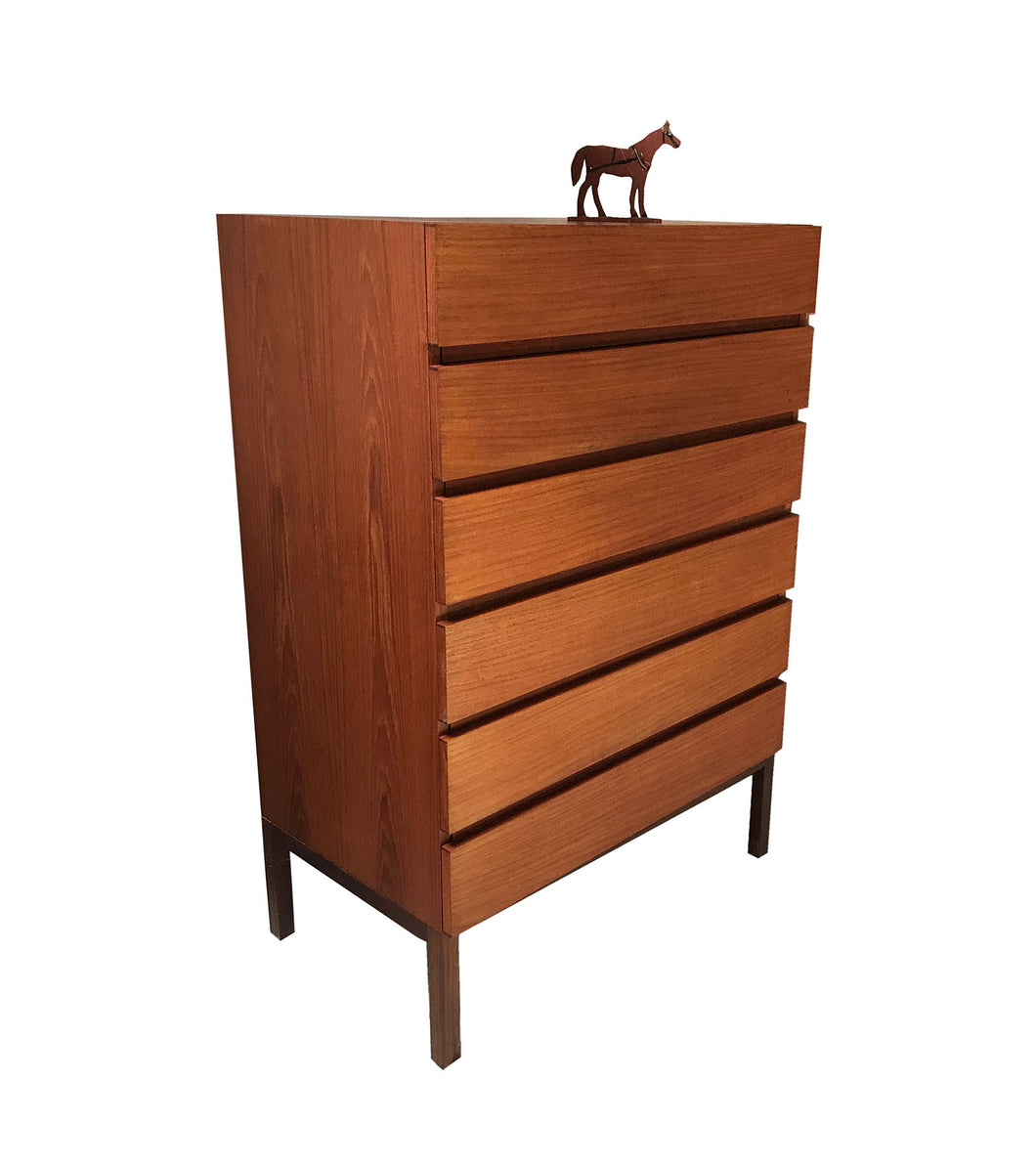 REFF Teak Highboy Dresser