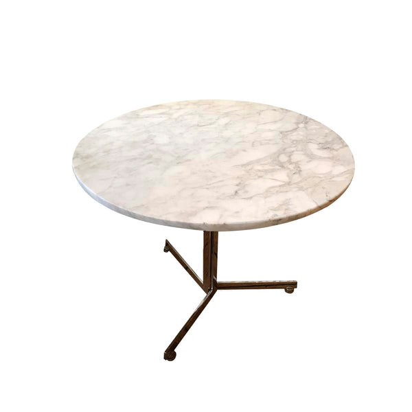Marble coffee table by Hans Eichenberger