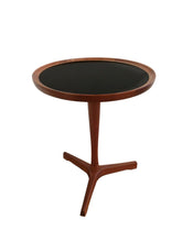 Rare. Hans C Andersen Round Teak Side Table