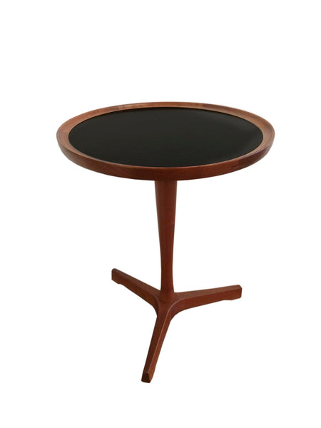 Rare. Hans C Andersen Round Teak Side Table: SALE
