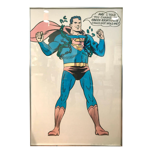 Original Superman Poster
