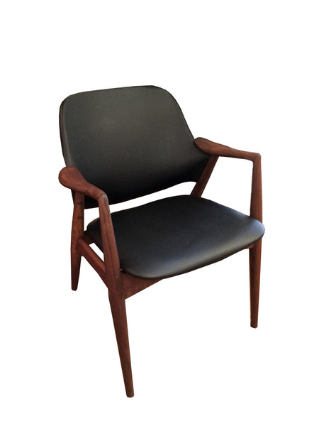 Scandinavian Teak Arm Chair: SALE