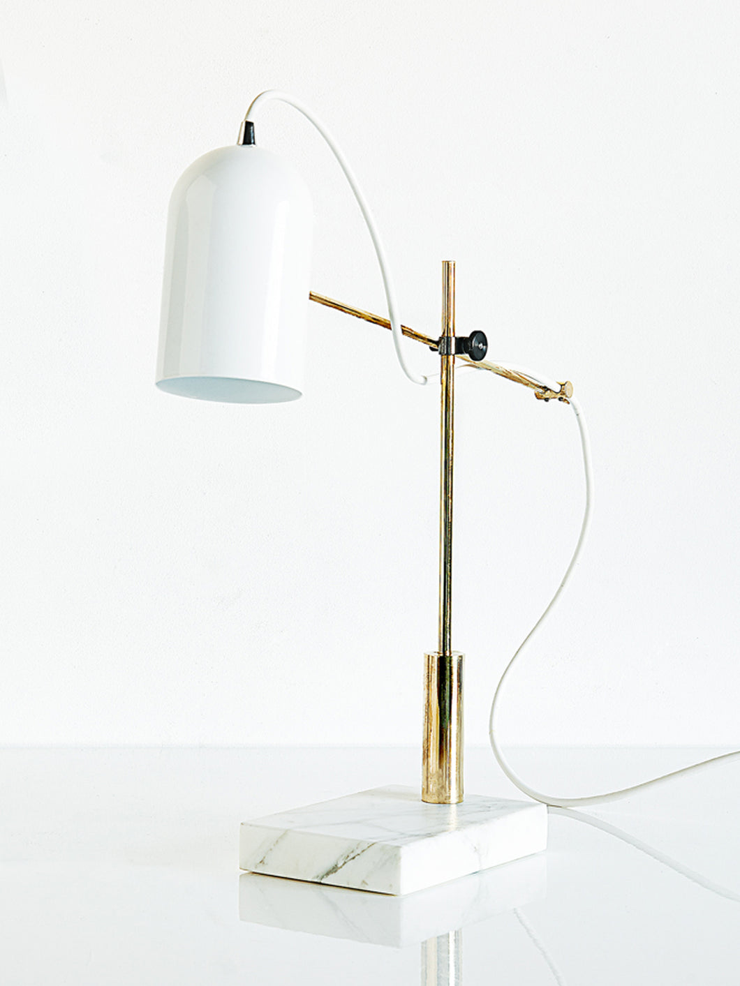 White Catherine Lamp