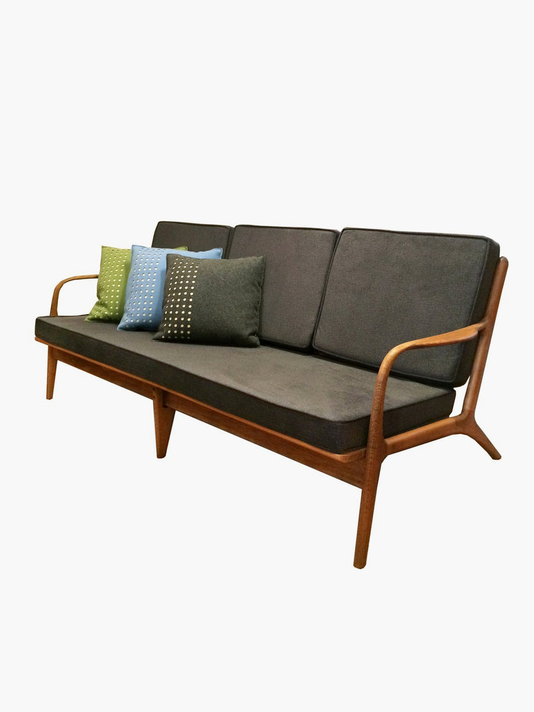 Yugoslavian Maple Sofa