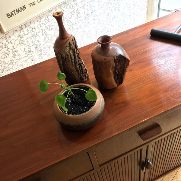Wood Bud Vases