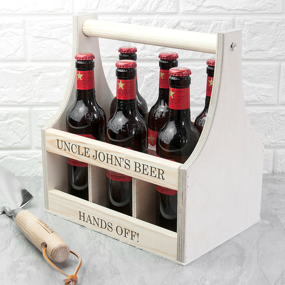 Personalised Beer Trug Handmade in Britain