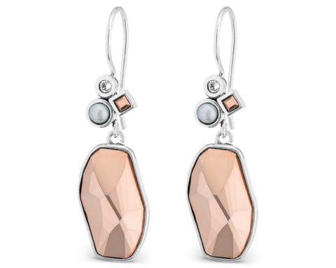 Lori Bonn All That Glitters is Rose Gold Earrings