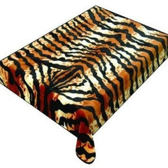 6.5KG - 2PLY High Quality Blankets - Queen Size Tiger Print