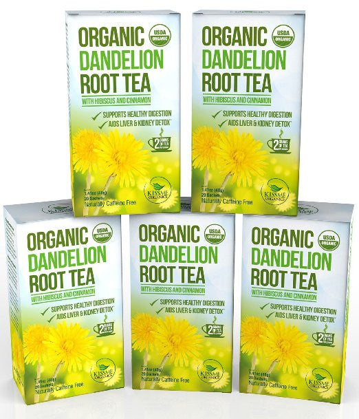 Dandelion Root Tea - 5 Pack