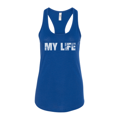 My Life White Brick Logo Women's Tank
