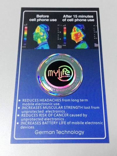 My Life Anti-Radiation Stickers - My Life Fitness