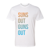 Suns Out Guns Out Unisex Crew Tee