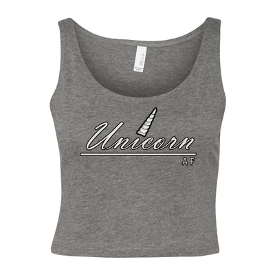 Unicorn AF Women's Cropped Tank