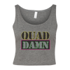 Quad Damn Women's Cropped Tank
