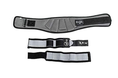 "6"" Weightlifting Belt and Matching Wrist Wrap Bundle - My Life Fitness"