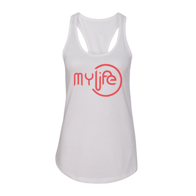 My Life Red Logo Women's Tank