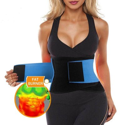 THE MY LIFE ADJUSTABLE WAIST TRAINER AB BELT - My Life Fitness