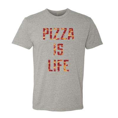 Pizza Is Life Unisex Crew Tee