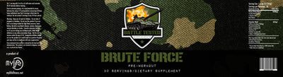 Brute Force - Pre Workout