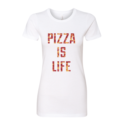 Pizza Is Life Women's Crew Tee