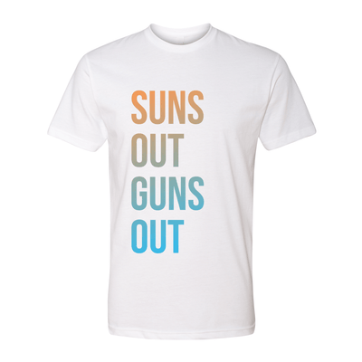 Suns Out Guns Out Unisex Crew Tee - My Life Fitness