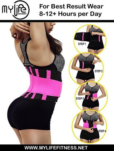 WAIST TRAINER WITH MATCHING SWEAT BELT & ABSolute BUNDLE