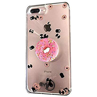 Donuts and Bodybuilders iPhone Case