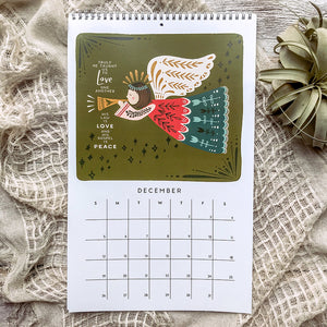 2021 Hymns & Hope for the Home Wall Calendar