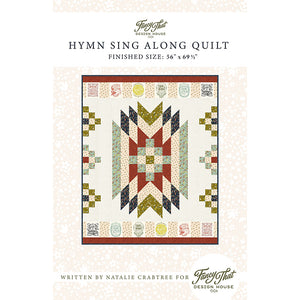 Songbook Hymn Sing Along Quilt Pattern Booklet - PREORDER Ships in May