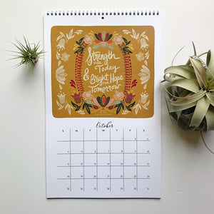 2020 Hymns & Hope for the Home Wall Calendar