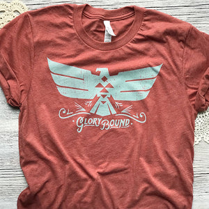 Glory Bound Tribal Bird T shirt