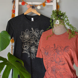 Floral T Shirt / Tee